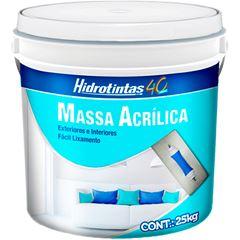 MASSA ACRILICA 25KG HIDROTINTAS