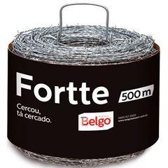 ARAME FARPADO 500M FORTTE BELGO